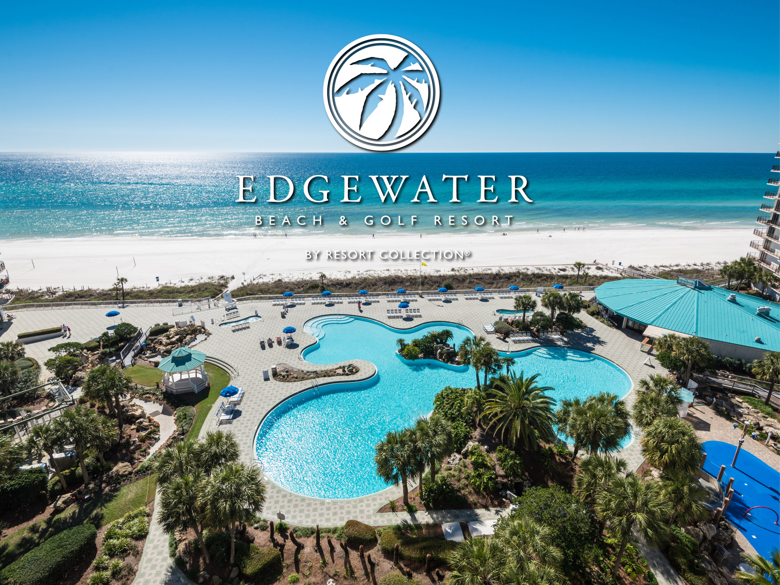 view of the lagoon pool at edgewater beach and golf resort